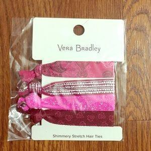 4 Vera Bradley Hair Ties